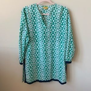 Roberta Roller Rabbit tile printed tunic #137